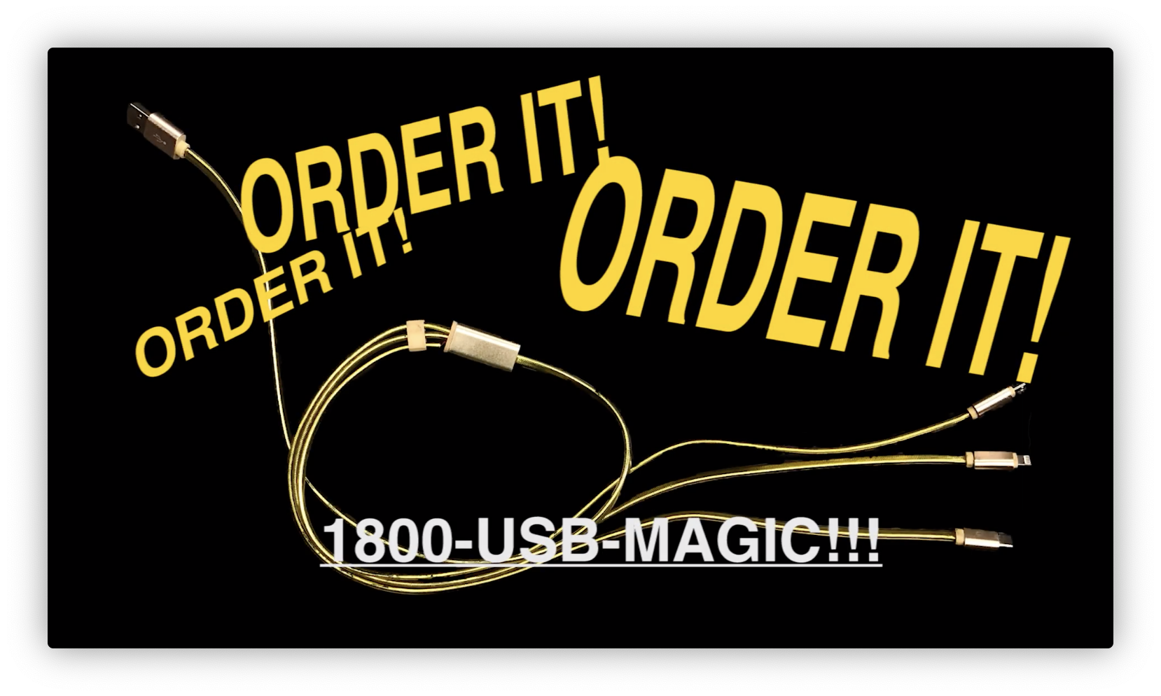 Magical USB Order Screen