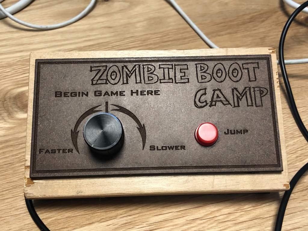 Zombie Boot Camp Controller
