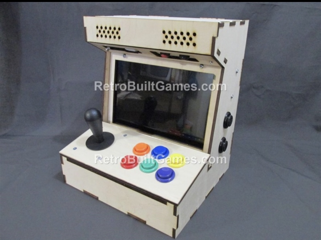 A desktop arcade shell like what we plan to build.