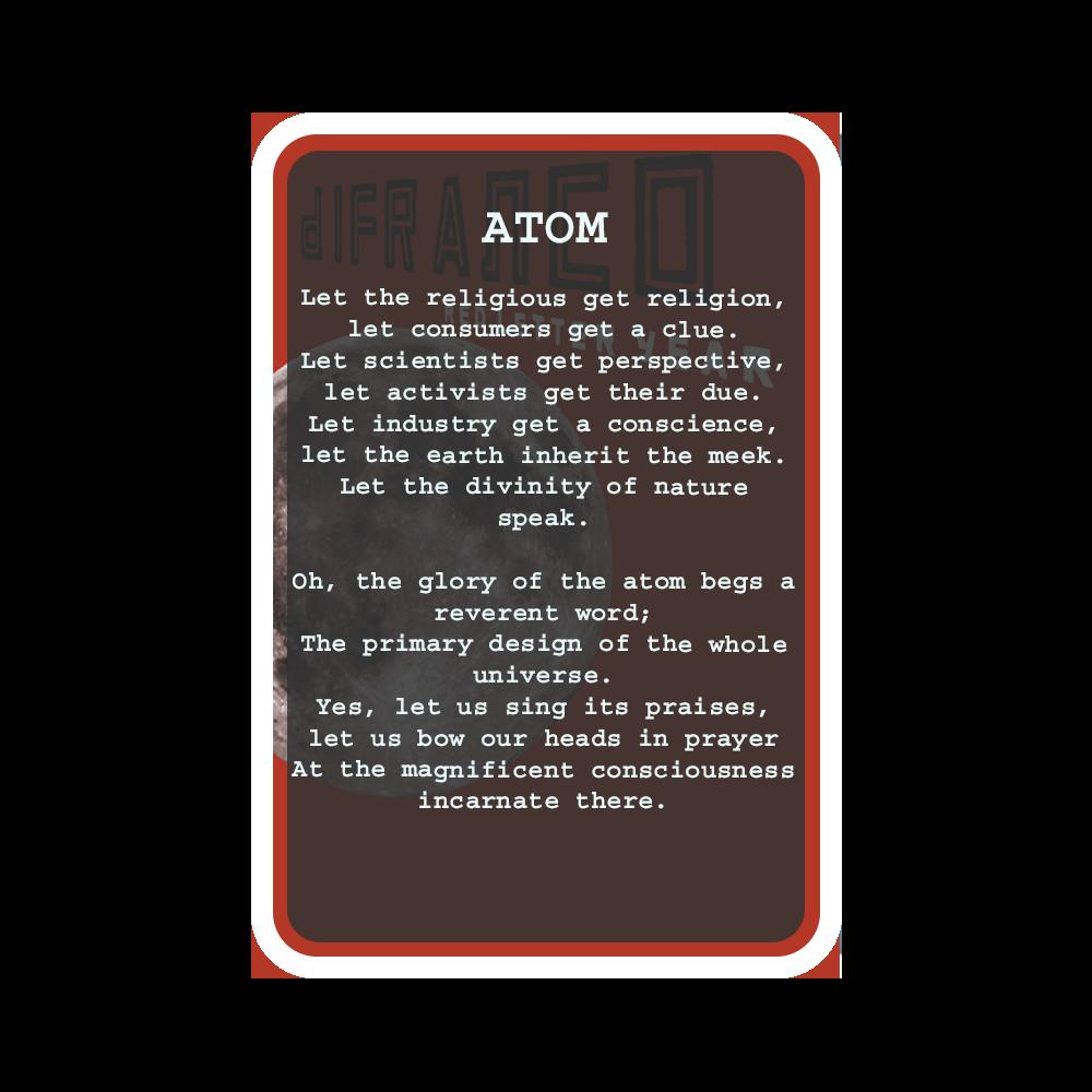 ATOM Oracle Deck Card