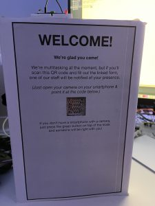 Prototype of my Visitor Kiosk