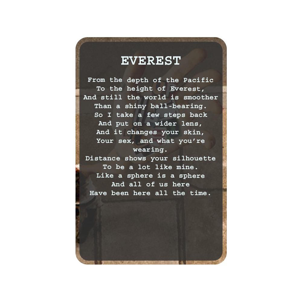 EVEREST Oracle Deck Card