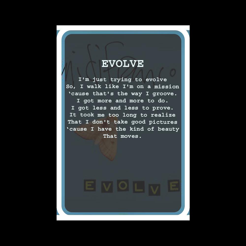 EVOLVE Oracle Deck Card