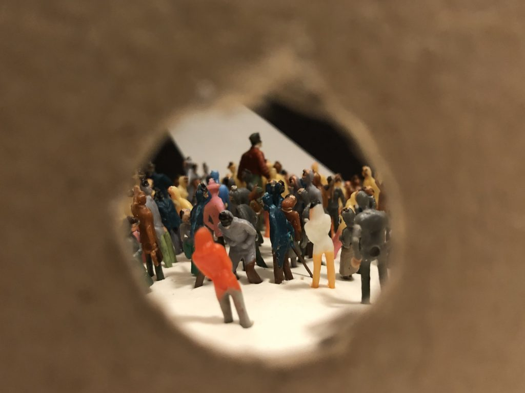 Cabinets of Wonder Diorama - Through the Peephole - Shot A