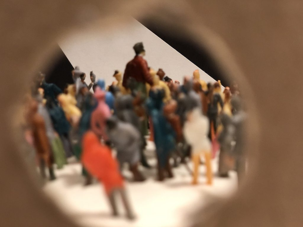 Cabinets of Wonder Diorama - Through the Peephole - Shot B
