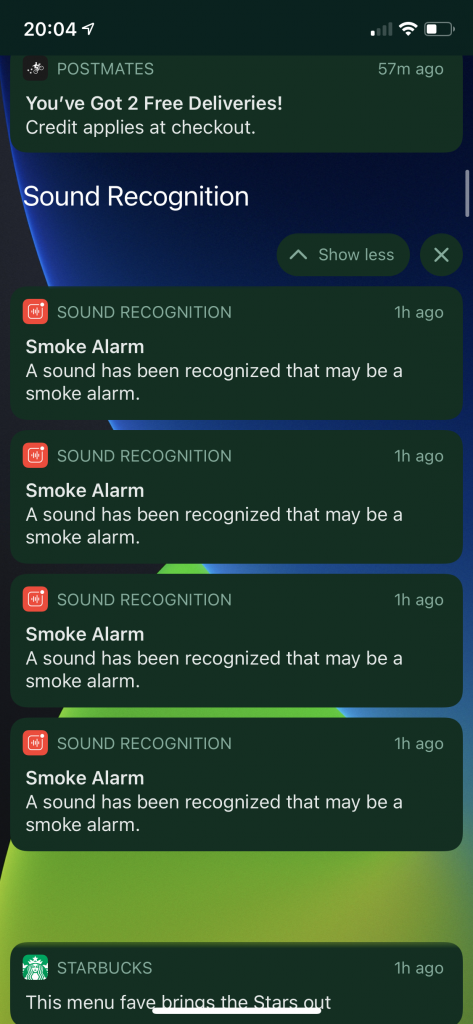 Sound Recognition in iOS14 in Action - Smoke Alarm