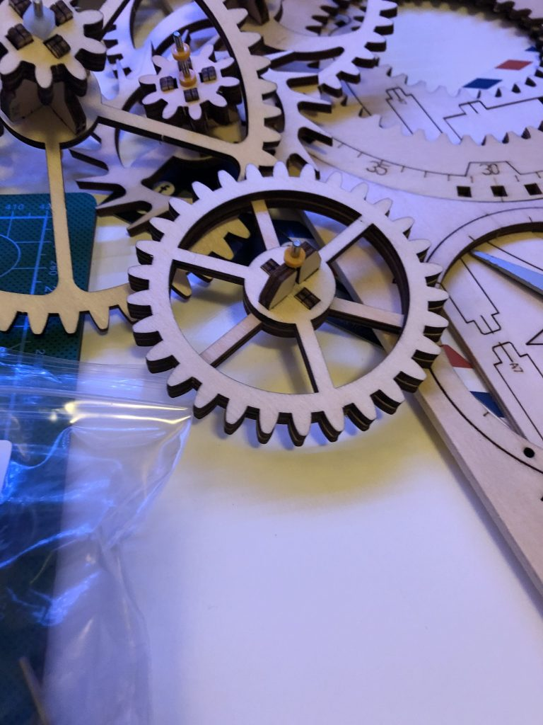 My ROKR Clock Puzzle Building Experience - Image 11