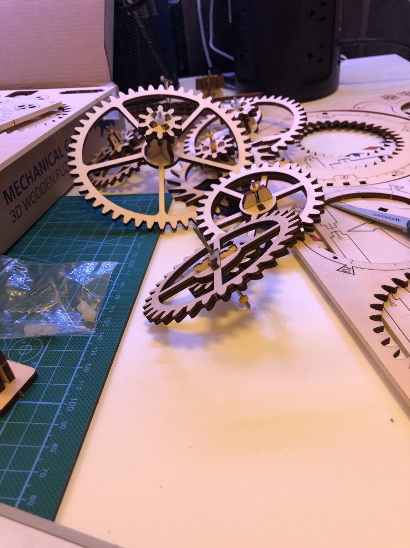 My ROKR Clock Puzzle Building Experience - Image 12