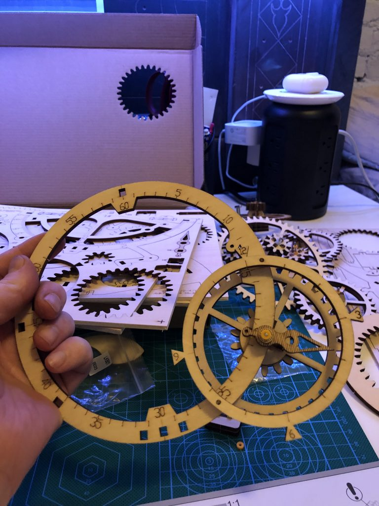My ROKR Clock Puzzle Building Experience - Image 13