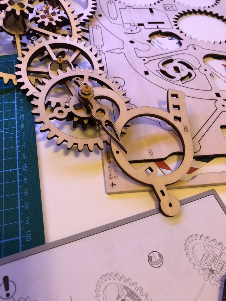 My ROKR Clock Puzzle Building Experience - Image 15