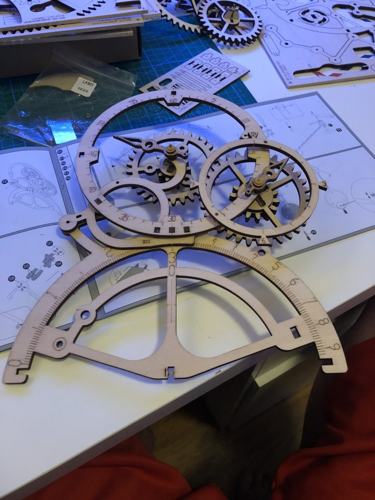 My ROKR Clock Puzzle Building Experience - Image 16