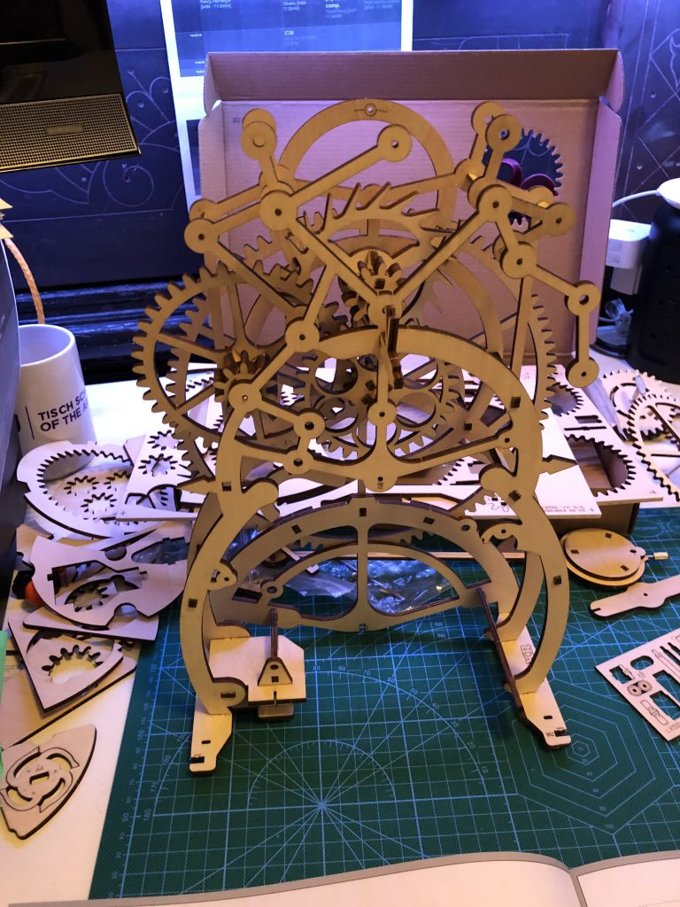 My ROKR Clock Puzzle Building Experience - Image 18