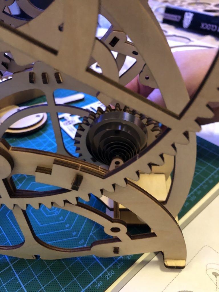 My ROKR Clock Puzzle Building Experience - Image 20