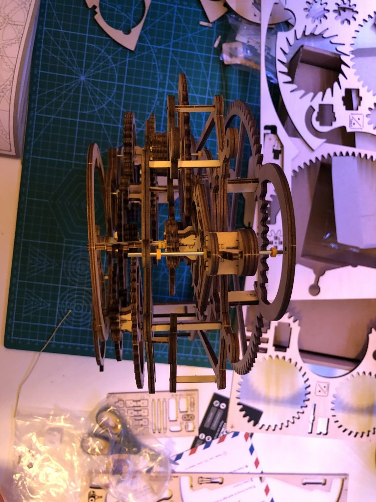 My ROKR Clock Puzzle Building Experience - Image 27