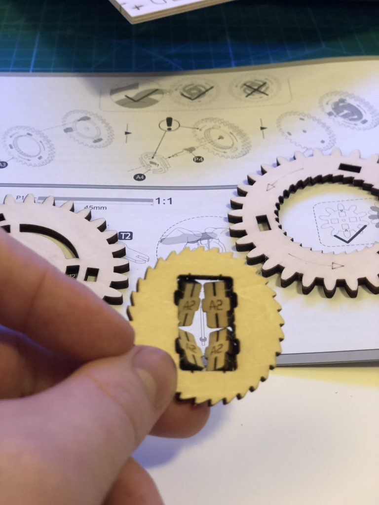 My ROKR Clock Puzzle Building Experience - Image 4 - Gears and Pieces