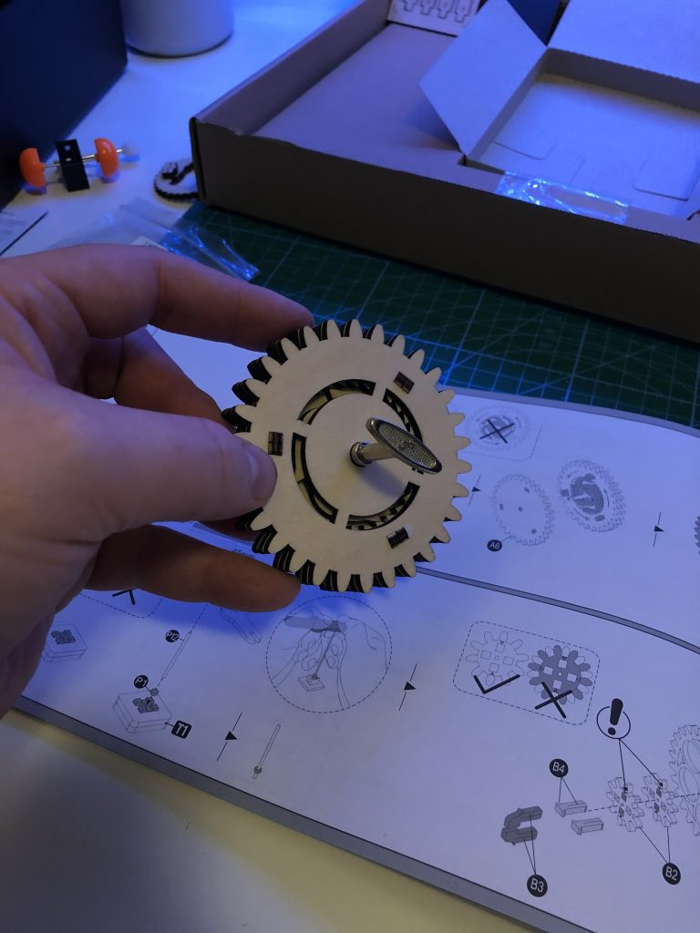 My ROKR Clock Puzzle Building Experience - Image 6