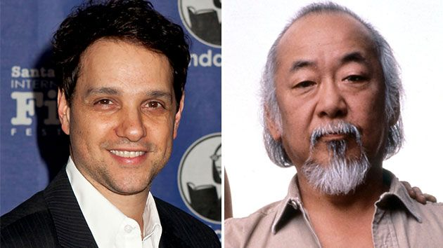 Side-by-Side Image of Ralph Macchio and Pat Morita, Both at 51. Source: Yahoo Entertainment