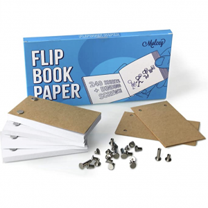 Screen Shot of Flip Book Paper Ordered for Sketch 3 (image source: Amazon)
