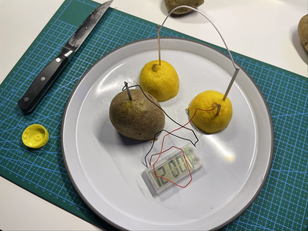 Lemon Potato Clock Combo